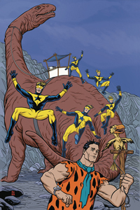 BOOSTER GOLD / THE FLINTSTONES - ANNUAL #1