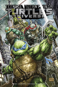 TEENAGE MUTANT NINJA TURTLES UNIVERSE VOL.1