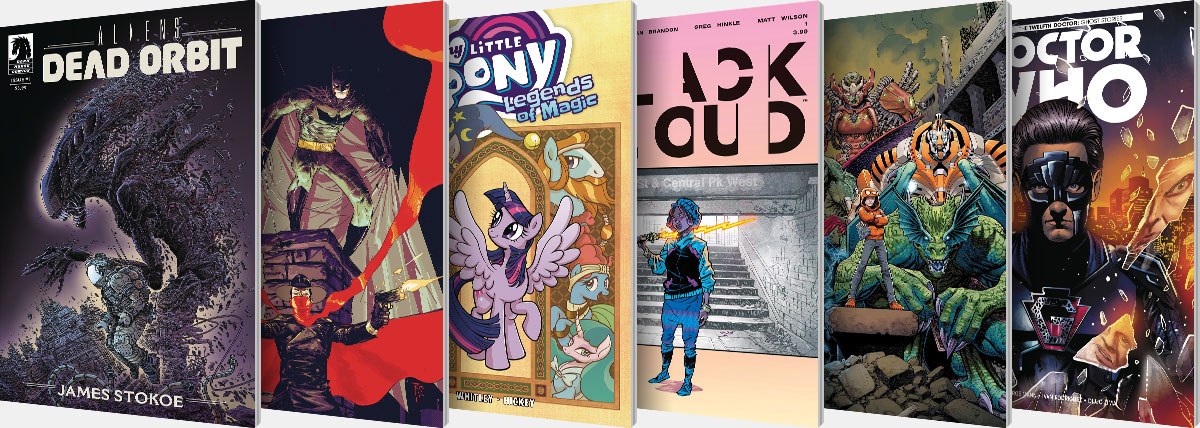 New Comic Series and One-Shots for April