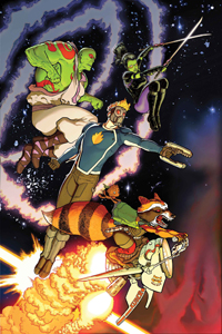 ALL NEW GUARDIANS OF THE GALAXY #1