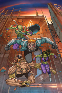GUARDIANS OF THE GALAXY: MISSION BREAKOUT #1
