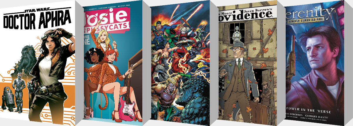 New Graphic Novels and Collected Editions arriving from May onwards...