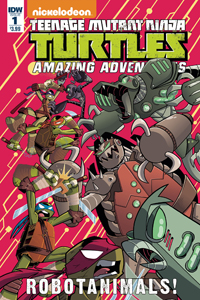 TEENAGE MUTANT NINJA TURTLES - AMAZING ADVENTURES: ROBOTANIMALS #1