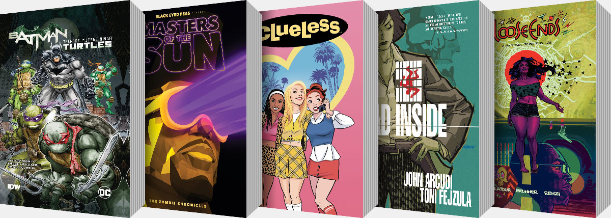 New Graphic Novels and Collected Editions arriving from June onwards...