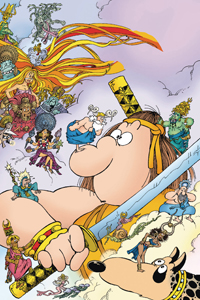 GROO: PLAY OF THE GODS #1