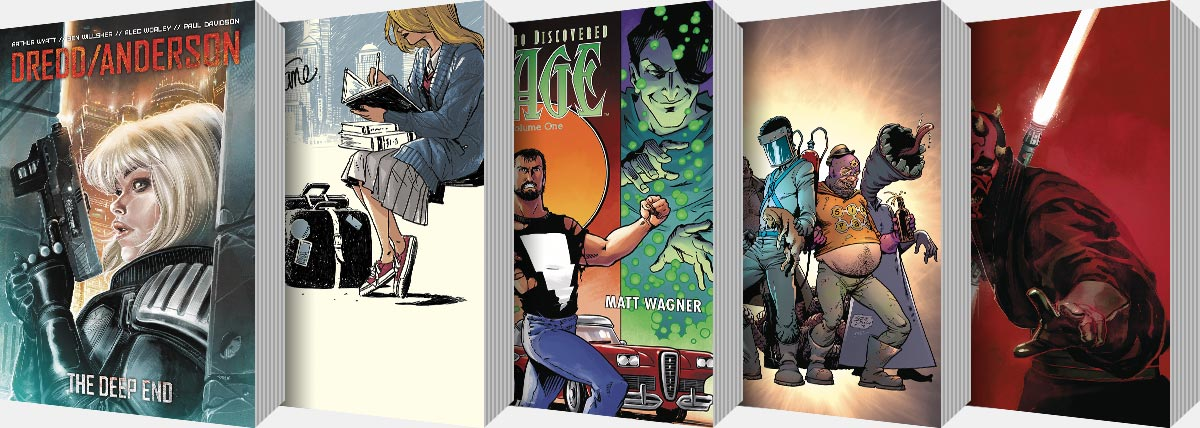New Graphic Novels and Collected Editions arriving from July onwards...