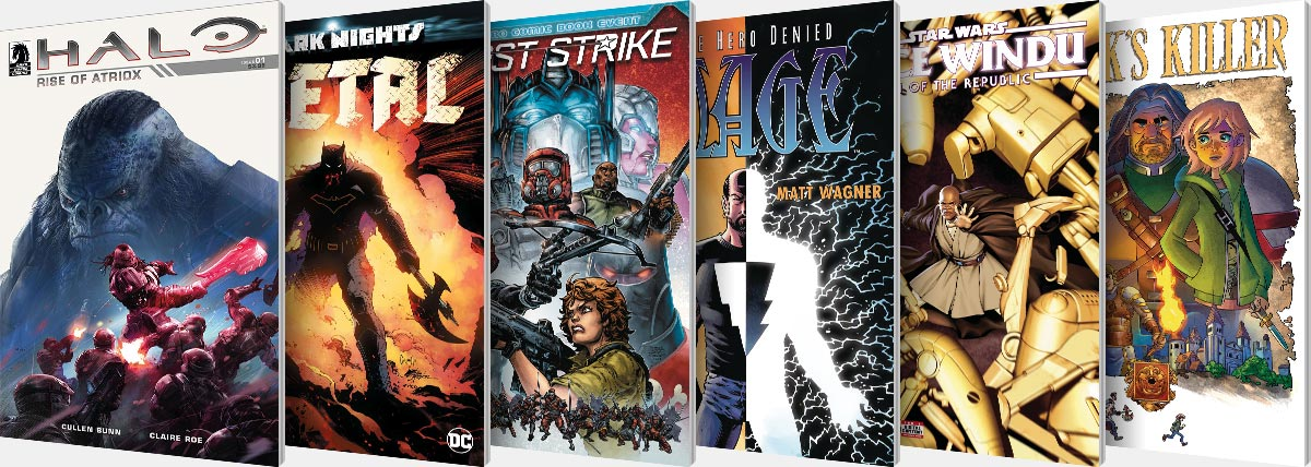 New Comic Series and One-Shots for August