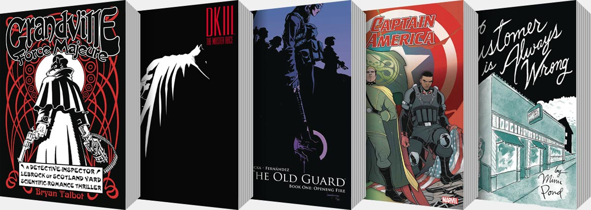 New Graphic Novels and Collected Editions arriving from August onwards...