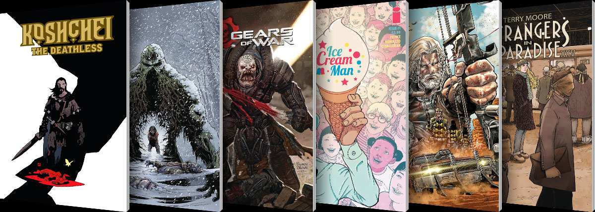 New Comic Series and One-Shots for January