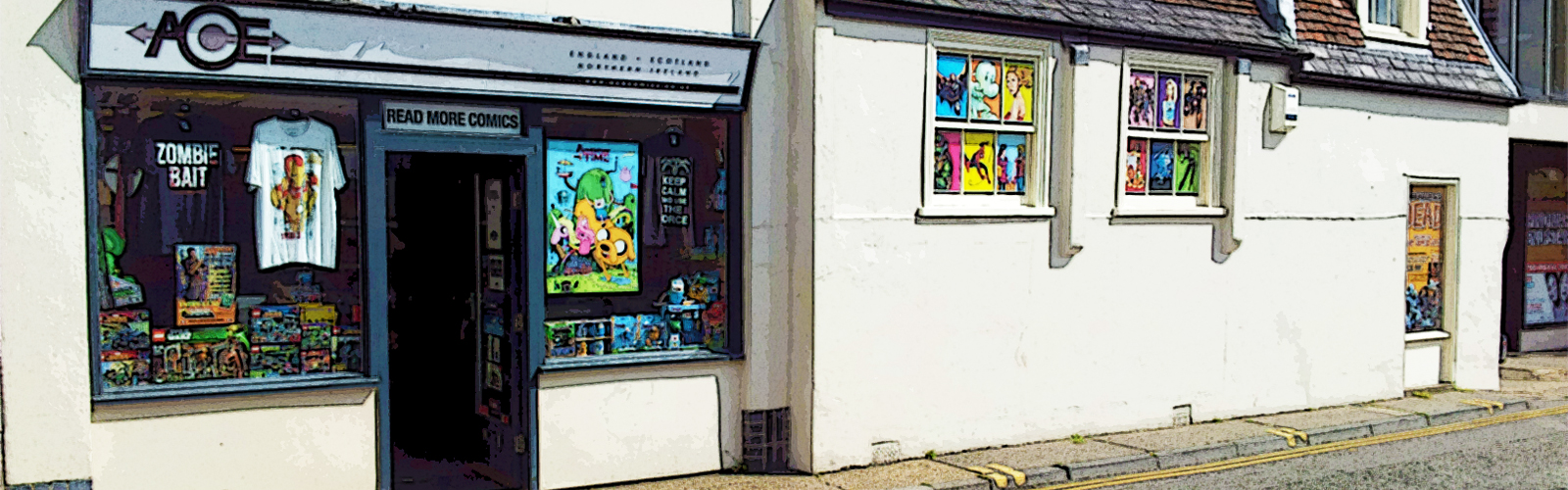 ACE Comics in Colchester
