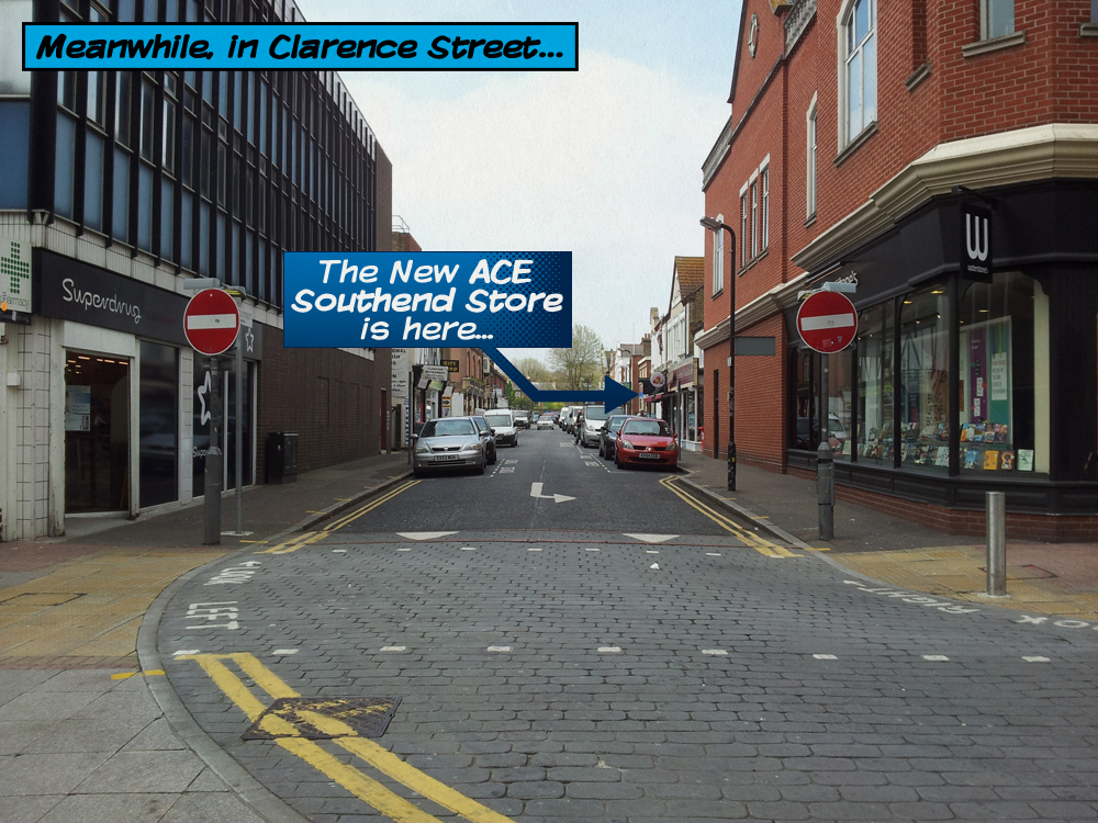 Ace Southend Clarence Street Location