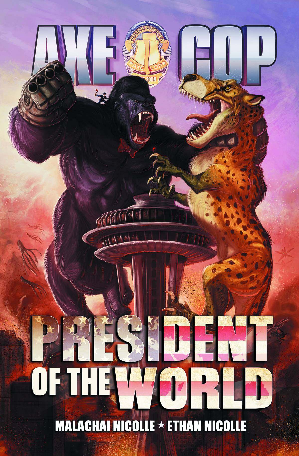 Axe Cop President Of The World #2 - Ethan Nicolle