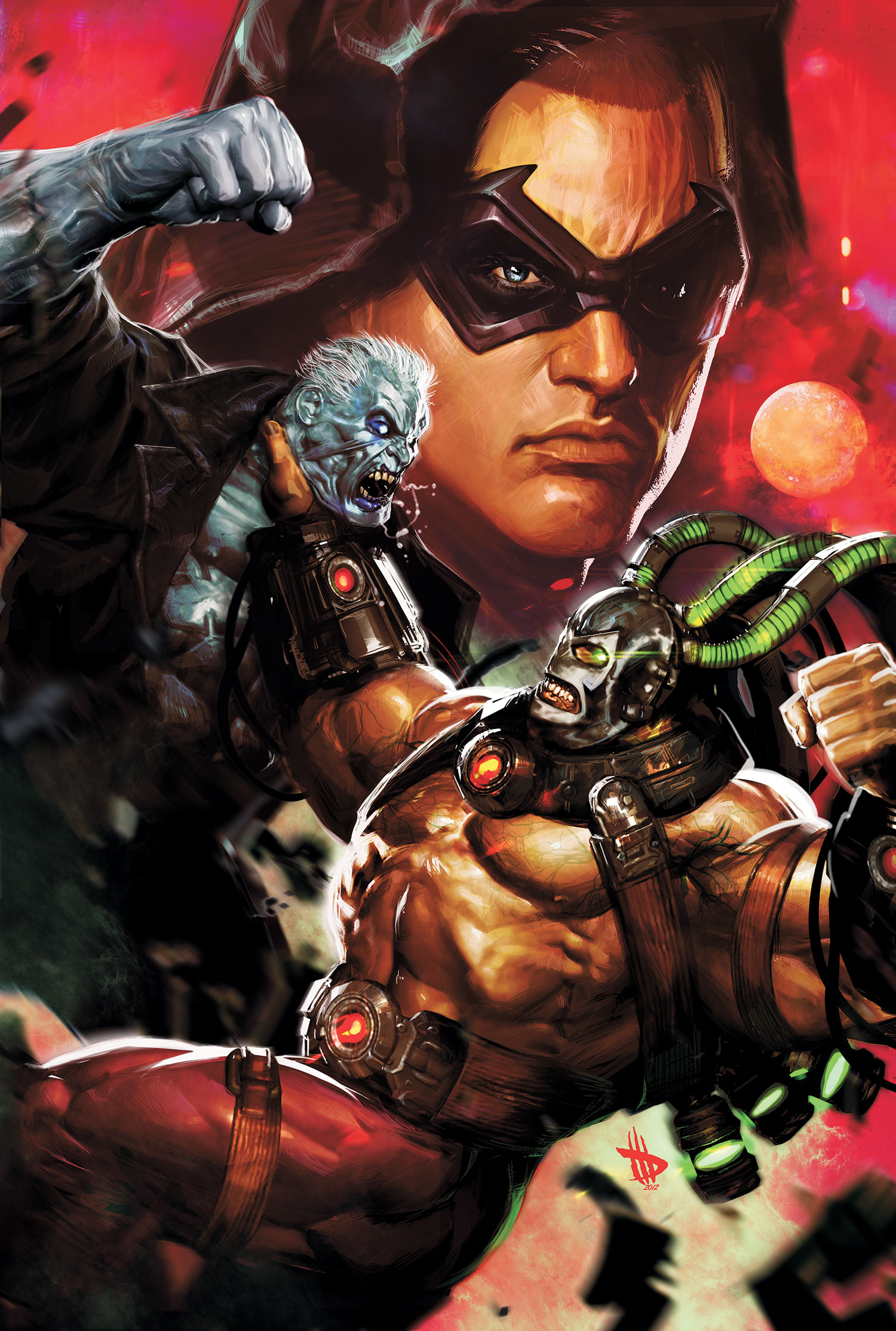 Batman - Arkham Unhinged #6 - Dave Wilkins
