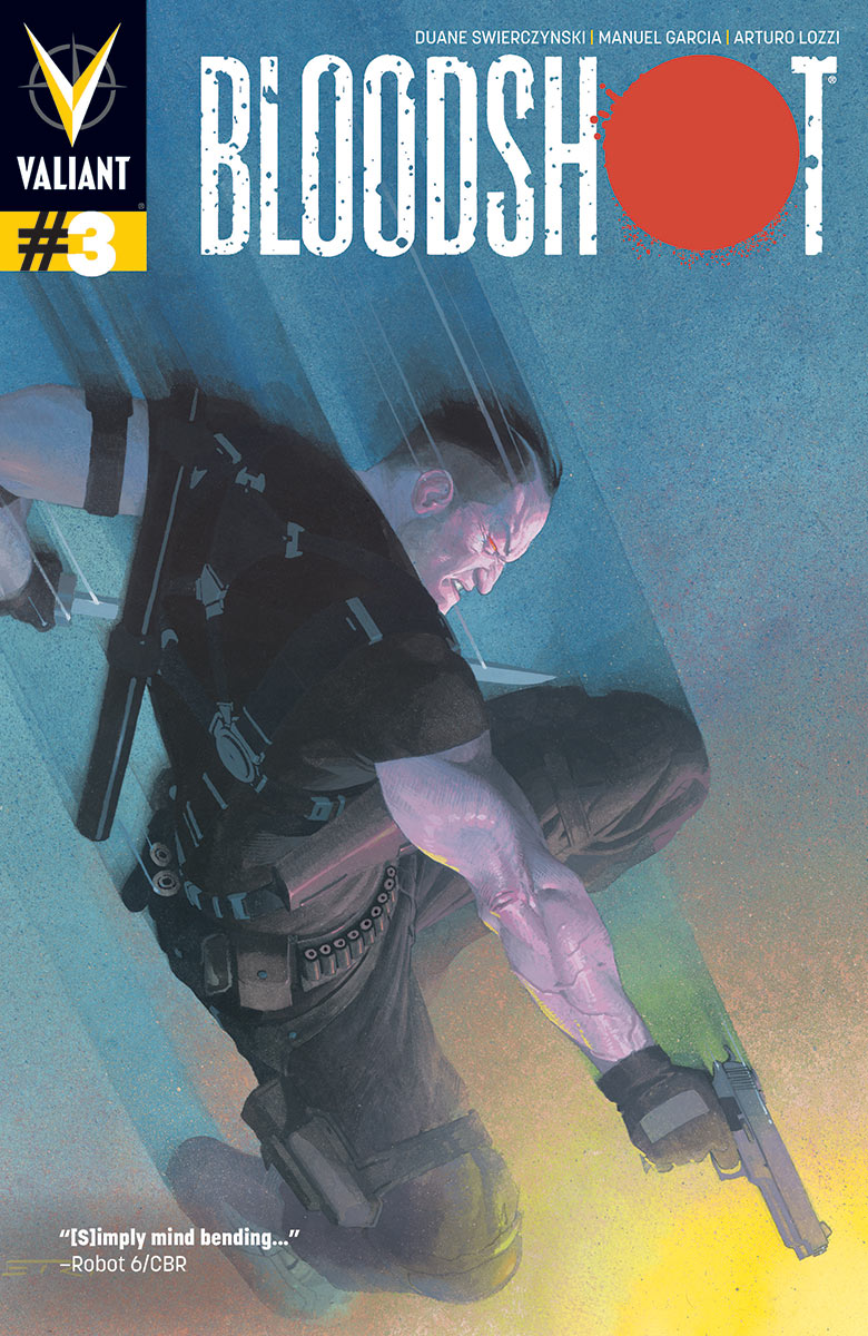 Bloodshot #3 by Esad Ribic