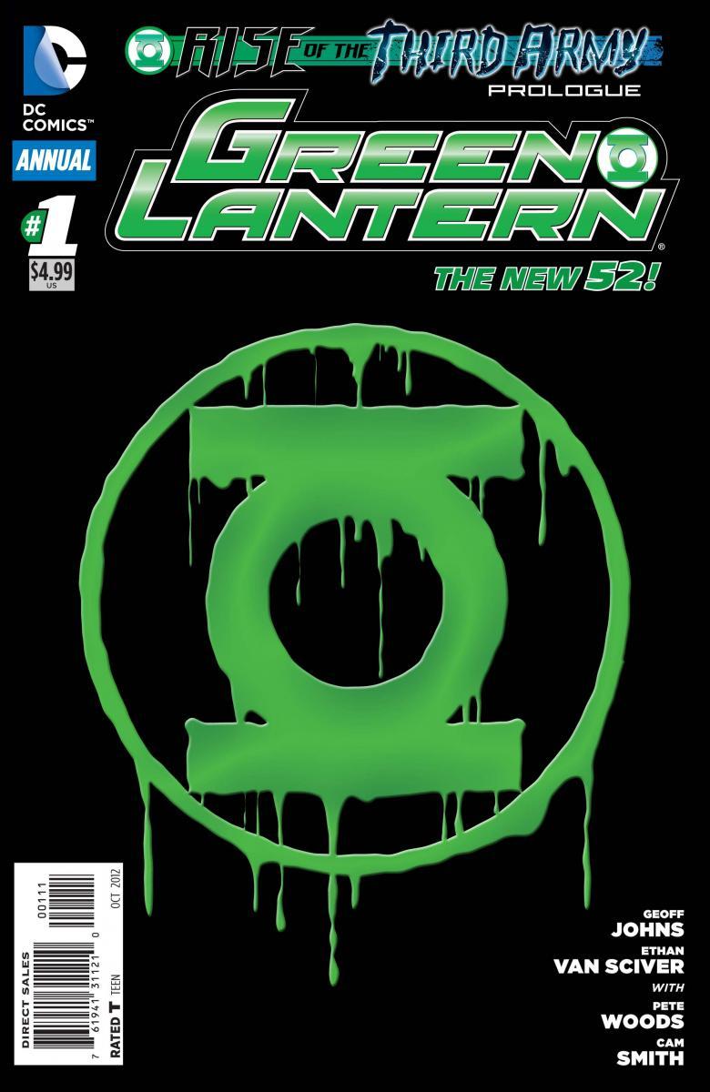 Green Lantern Annual #1 - Ethan Van Sciver
