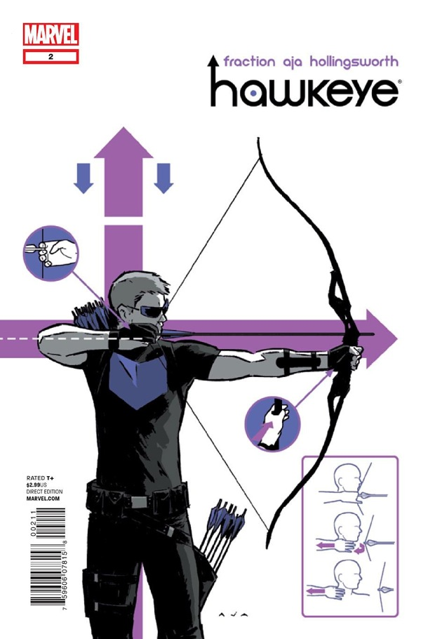 Hawkeye #2 by David Aja