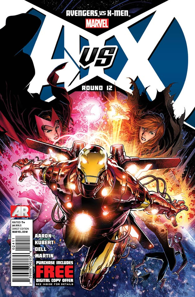 Avengers vs X-Men #12: Cover by Jim Cheung