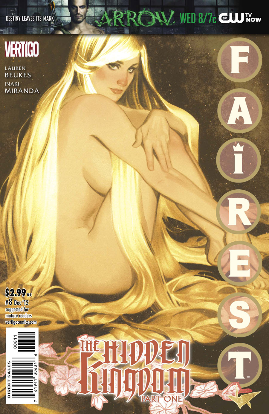 Fairest #8: Cover by Adam Hughes