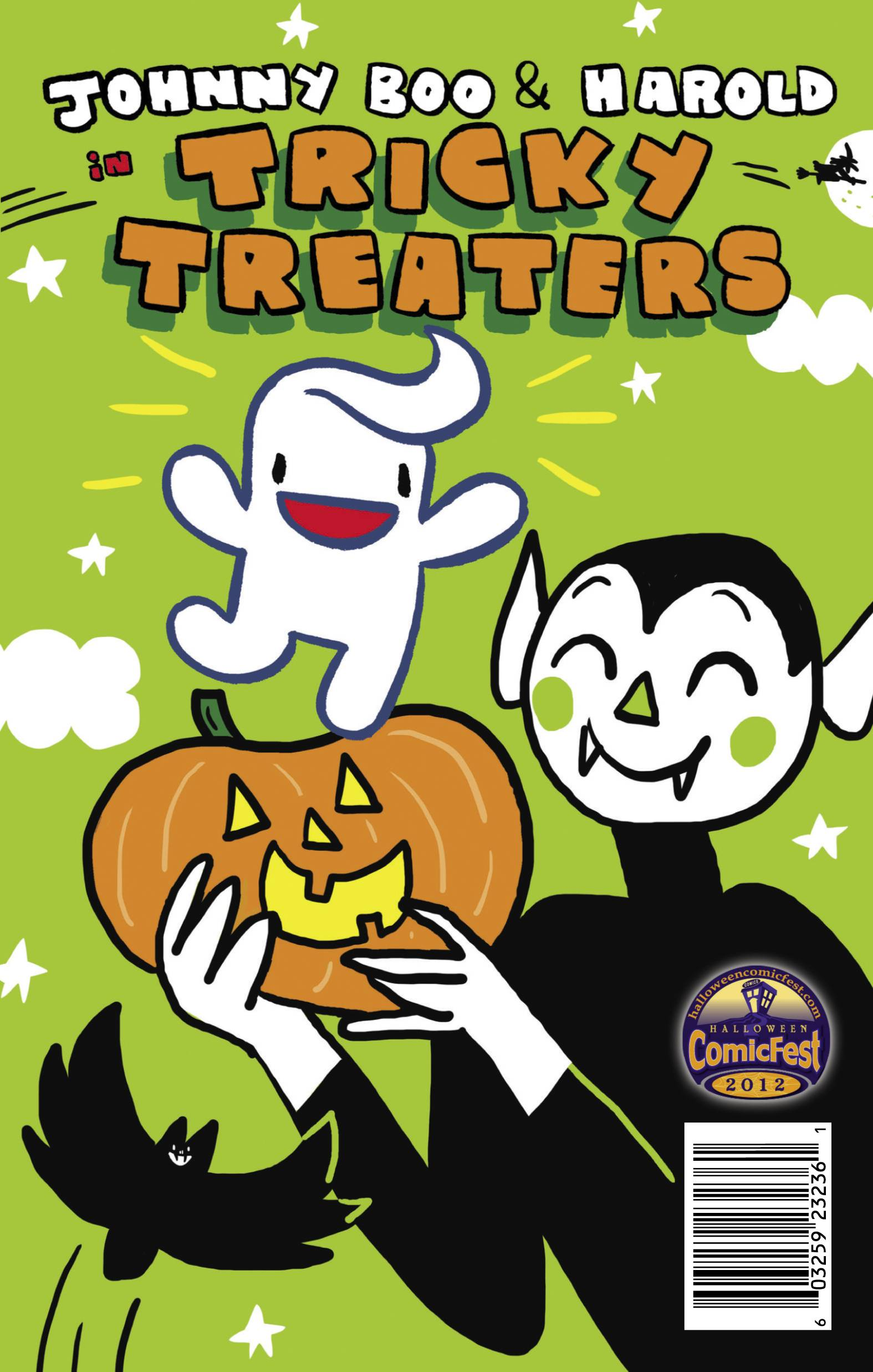 Tricky Treaters Mini Comic