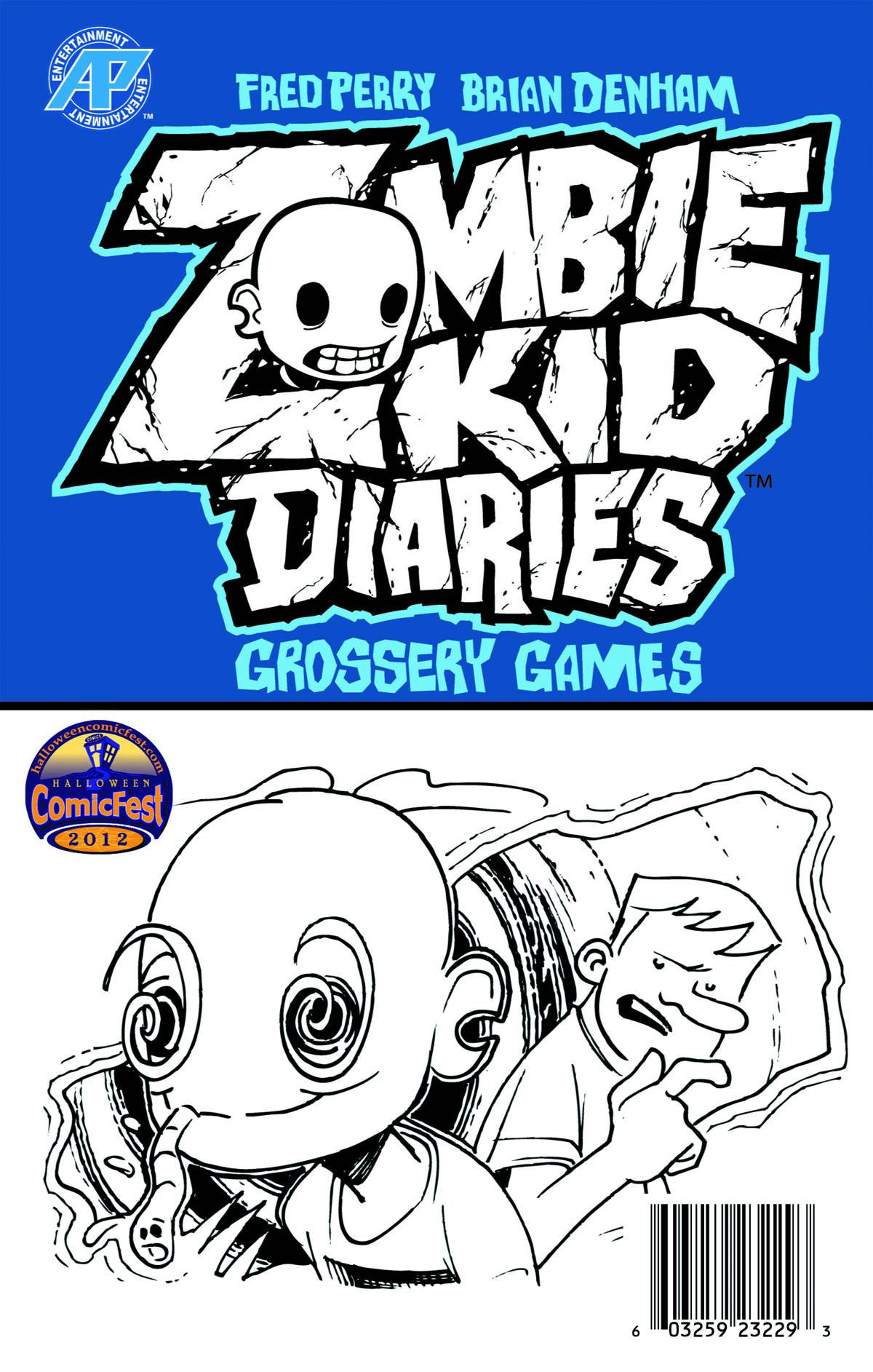 Zombie Kid Mini Comic