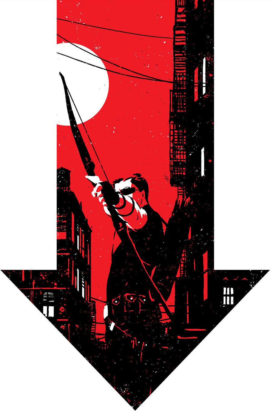 Hawkeye #6 by David Aja