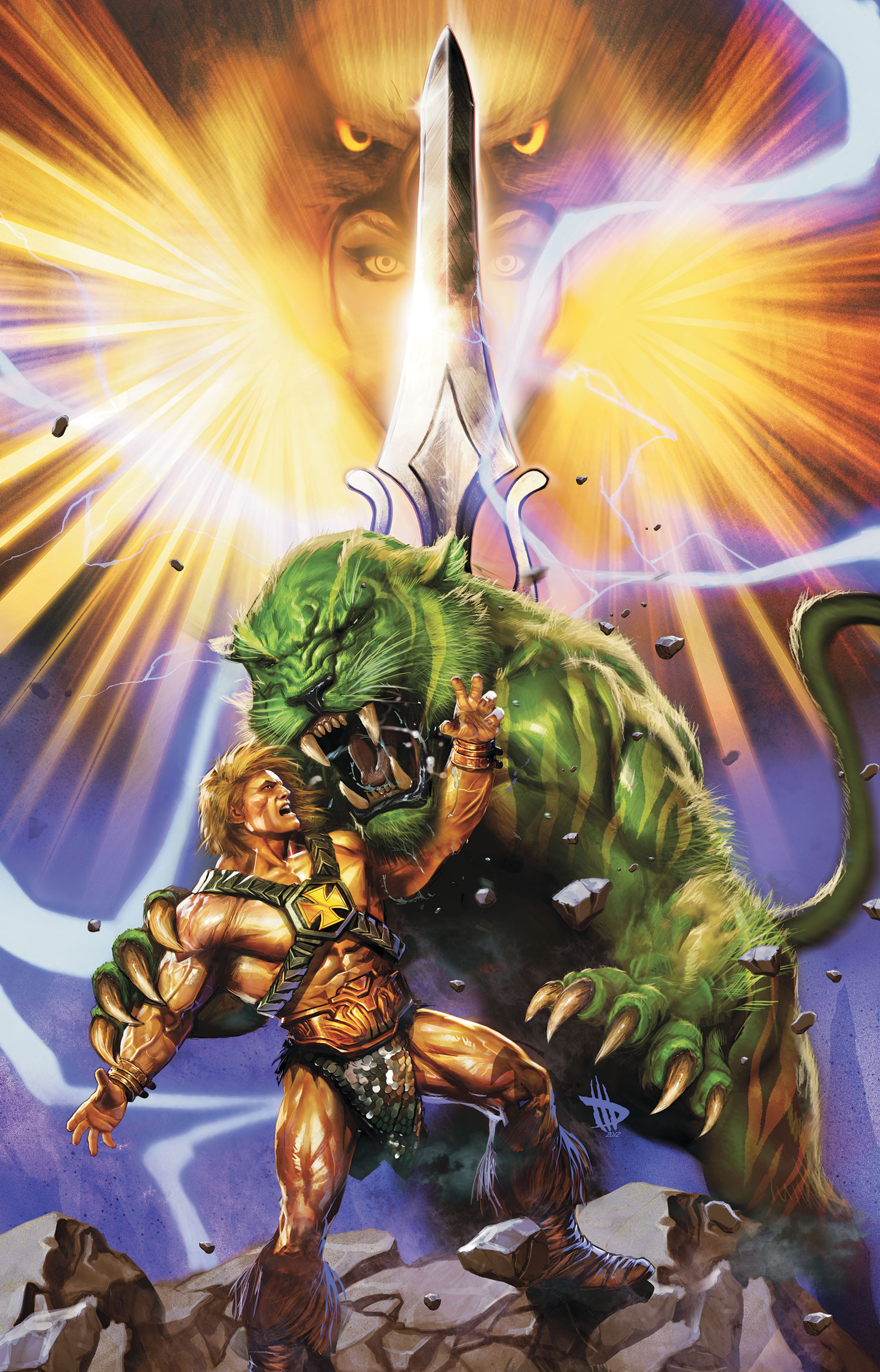 He Man #5 by Dave Wilkins