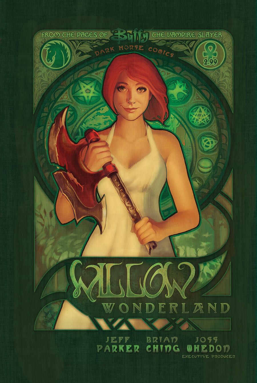 Willow Wonderland #2 by Megan Lara