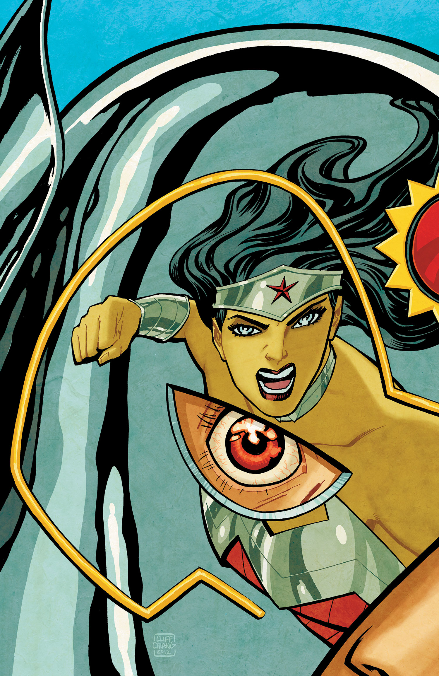 Wonder Woman #15 by Cliff Chiang