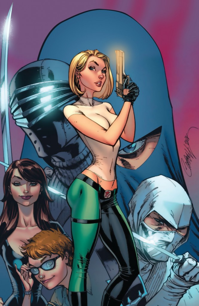 Danger Girl - GI Joe #5 by J. Scott Campbell