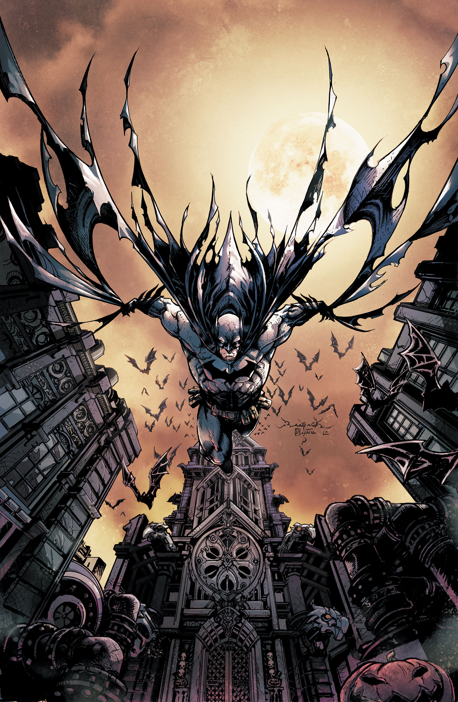 Legends Of The Dark Knight #4 by Jheremy Raapack