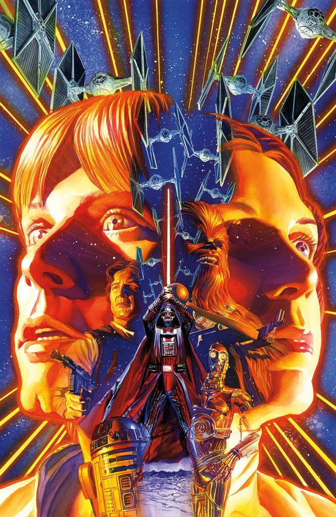 Star Wars #1 by Alex Ross