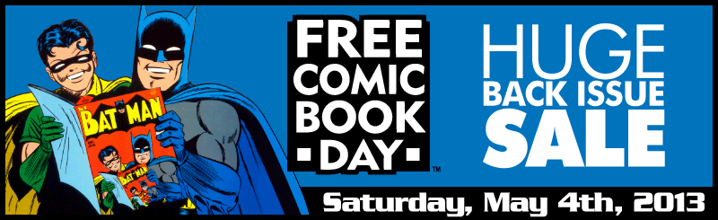 FCBD: Huge Back Issue Sale