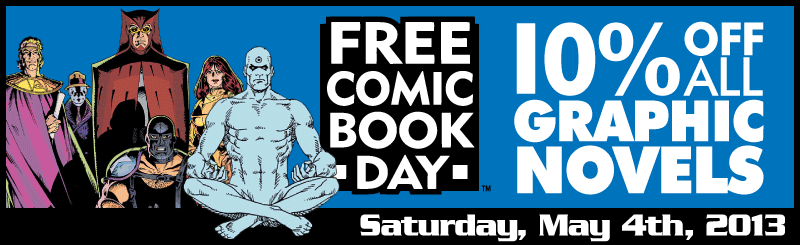 FCBD: 10% Off All Graphic Novels