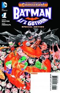 Halloween Comicfest 2013 - Batman - Lil Gotham