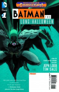 Halloween Comicfest 2013 - Batman - The Long Halloween #1