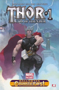 Halloween Comicfest 2013 - Thor - God Of Thunder #1