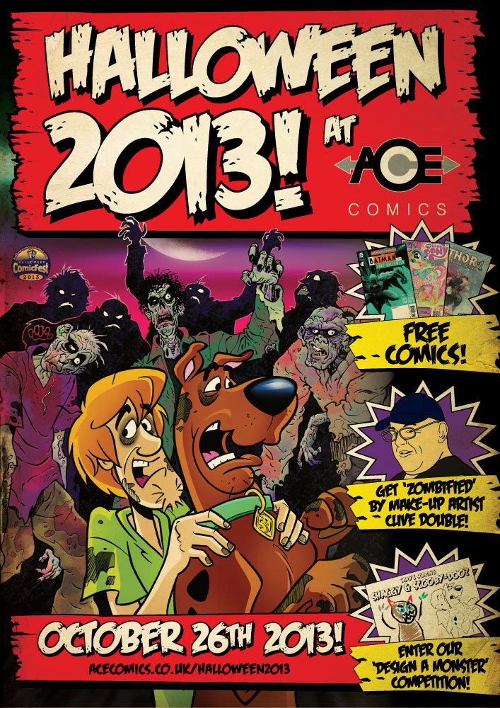 Halloween 2013 at ACE Comics