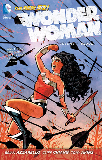 Wonder Woman Vol.01: Blood
