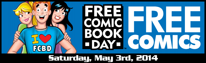 Free Comic Book Day 2014 - Free Comics