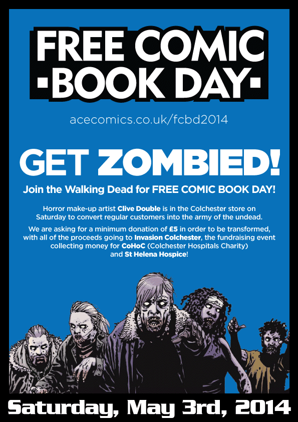 Free Comic Book Day 2014 - Get Zombied