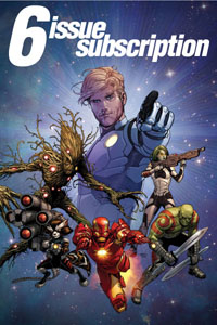 6-Issue Subscription: Guardians Of The Galaxy