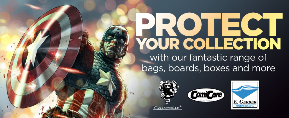 Protect You Collection with our Comic Supplies