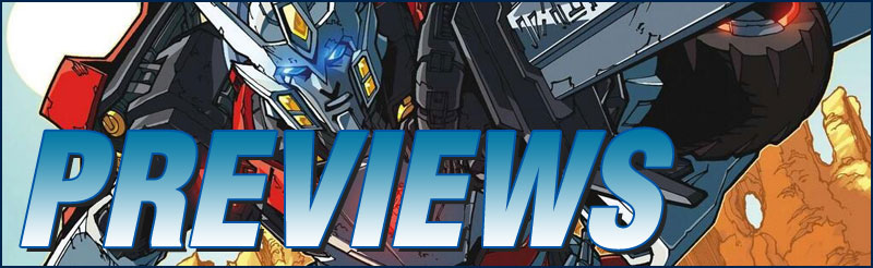 Previews #312 - Tranformers - Drift:  Empire Of Stone #1