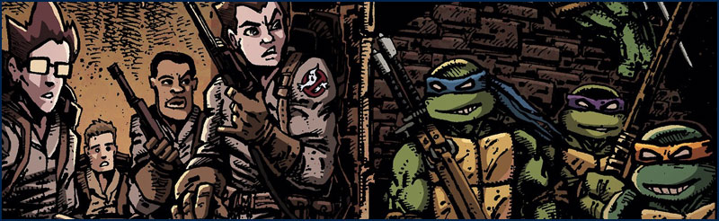 New Releases - 22-10-14: TMNT / Ghostbusters #1