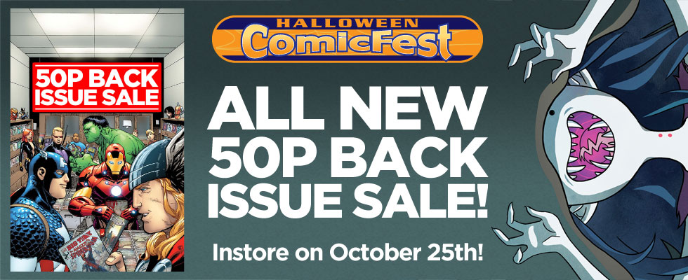 Halloween 2014 - 50p Back Issue Sale