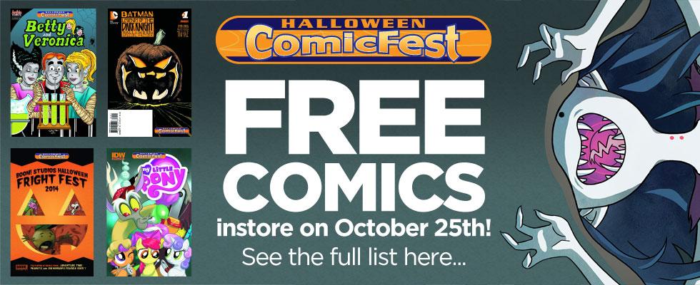 Halloween 2014 - FREE Comics