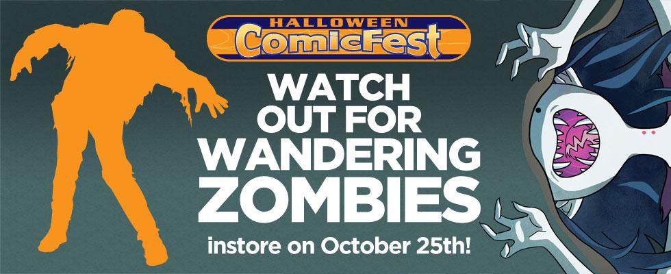 Halloween 2014 - Zombies!