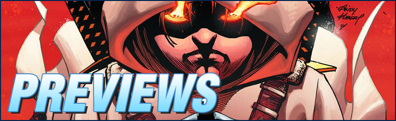 Previews #313 - Robin Rises: Alpha #1