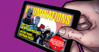 Illuminations: March's New Series, Graphic Novels, Biff's Bit and more