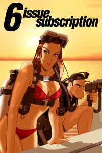 6-Issue Subscription: Scarlett Couture